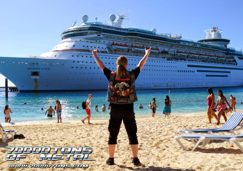 70000 tons of metal - Bandas confirmadas 70000 tons of Metal 2017