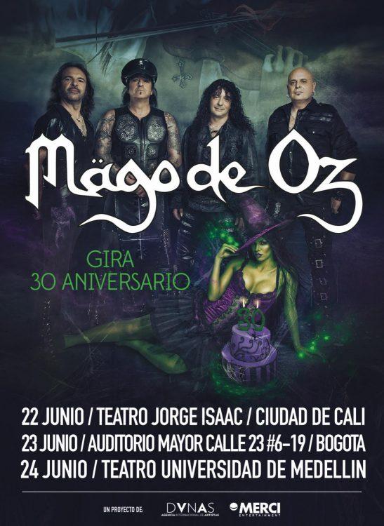 MAGO DE OZ Celebrará sus 30 años con gira Colombiana