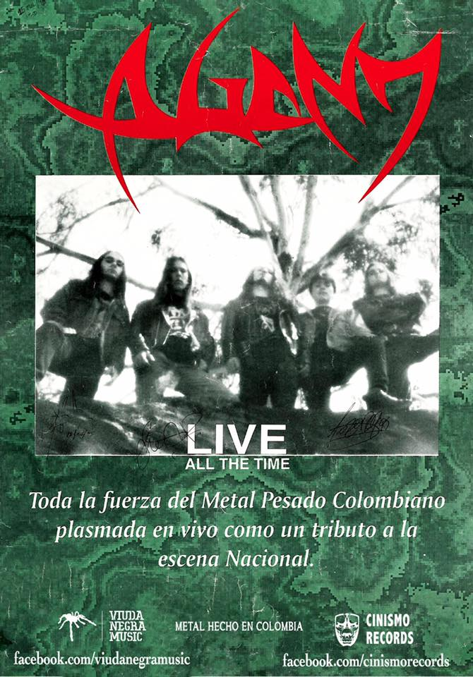 Agony Live All The Time Poster