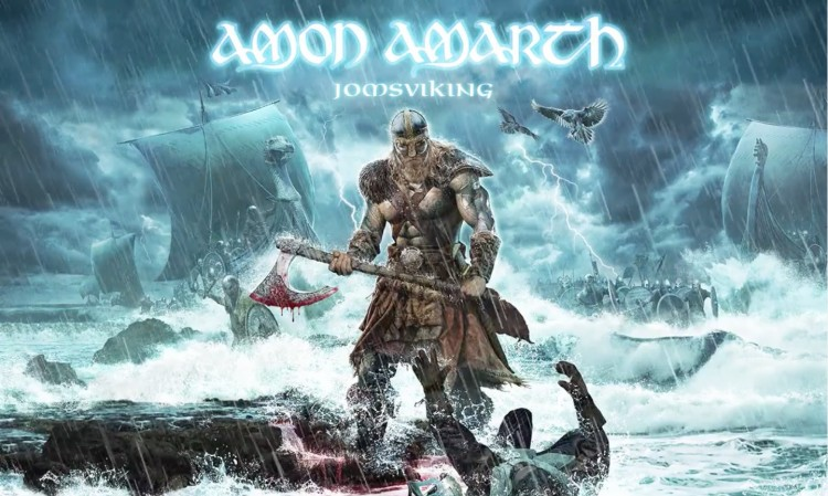 "Amon Amarth Jomsviking 750x449 - ""At Dawn's First Light"" nuevo vídeo de AMON AMARTH"