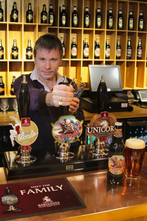 Bruce Dickinson - Iron Maiden Beer