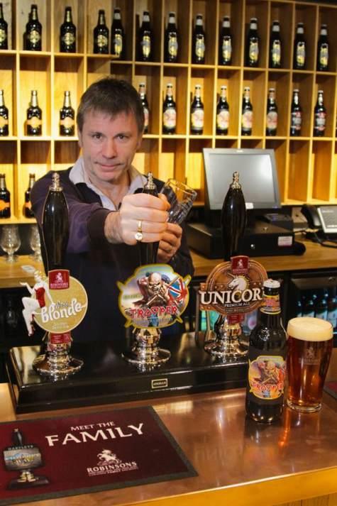 IRON MAIDEN lanza su cerveza «Trooper»