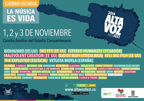 Cartel Festival Altavoz 2014