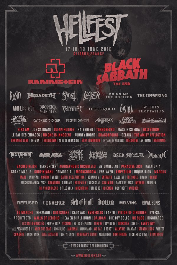 Cartel Hellfest 2016