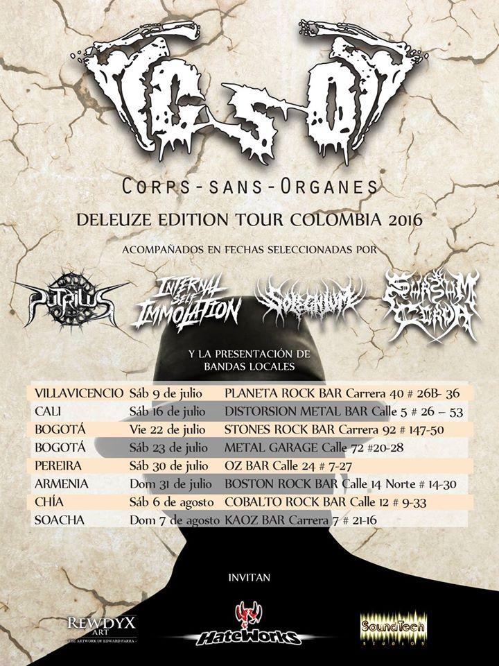 Corps-sans-Organes Tou 2016