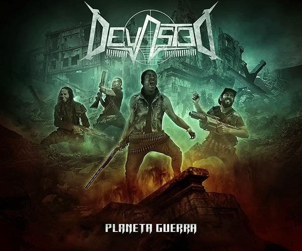 """DEVASTED presenta el arte de su próximo trabajo """"Planeta Guerra"""""""