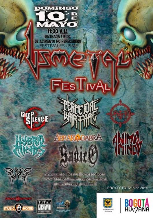 Flyer Usmetal 2015 10dMayo 529x750 - Bandas confirmadas FESTIVAL USMETAL 2015