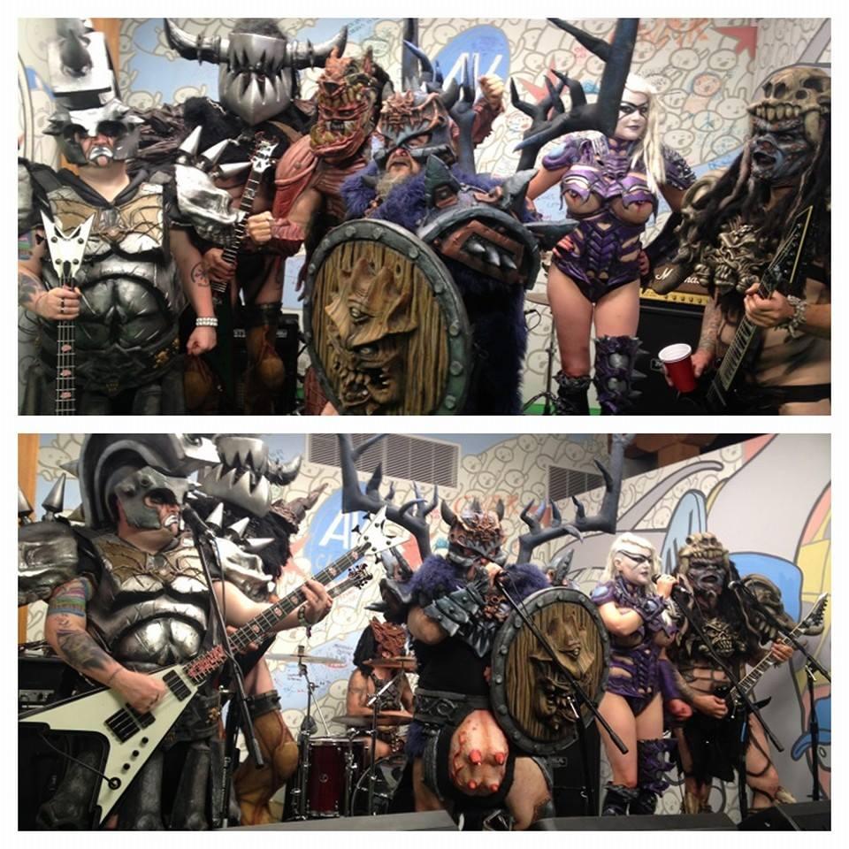 GWAR presenta sus nuevos vocalistas «Vulvatron» y «Blothar»