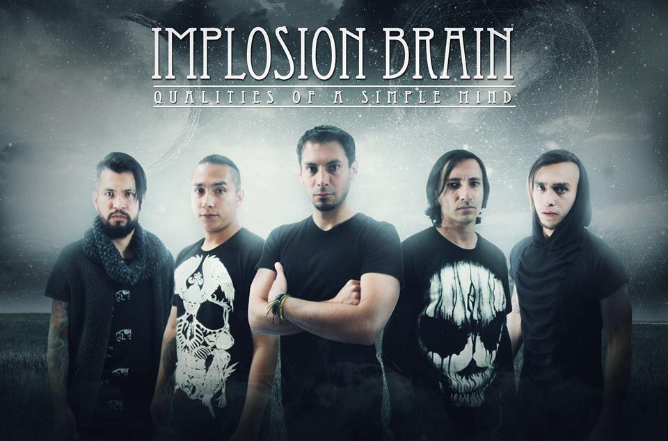 "Implosion Brain 2016 - IMPLOSION BRAIN presenta su álbum debut ""Qualities Of a Simple Mind"""