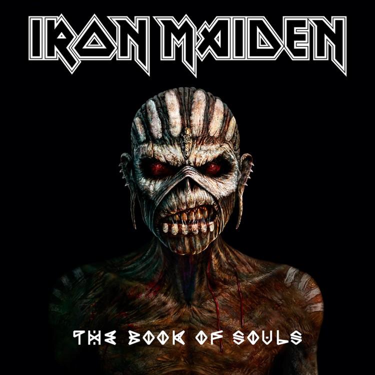 """Iron Maiden The Book Of Souls 2015 750x750 - IRON MAIDEN anuncia la fecha de lanzamiento de su nuevo álbum """"The Book Of Souls"""""""