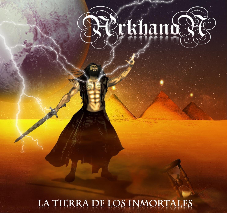 """La Tierra De Los Inmortales Carátula - Árkhanon Presenta """"La Tierra de los Inmortales"""""""