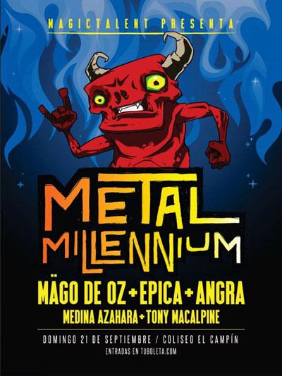 Metal Millenium 2014 Poster
