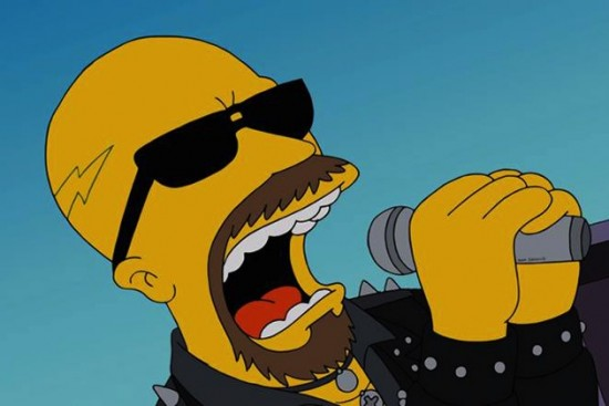 Rob Halford Simpsons