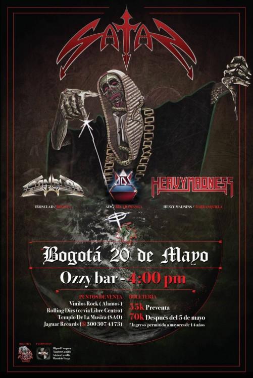 Satan En Bogota Mayo 20