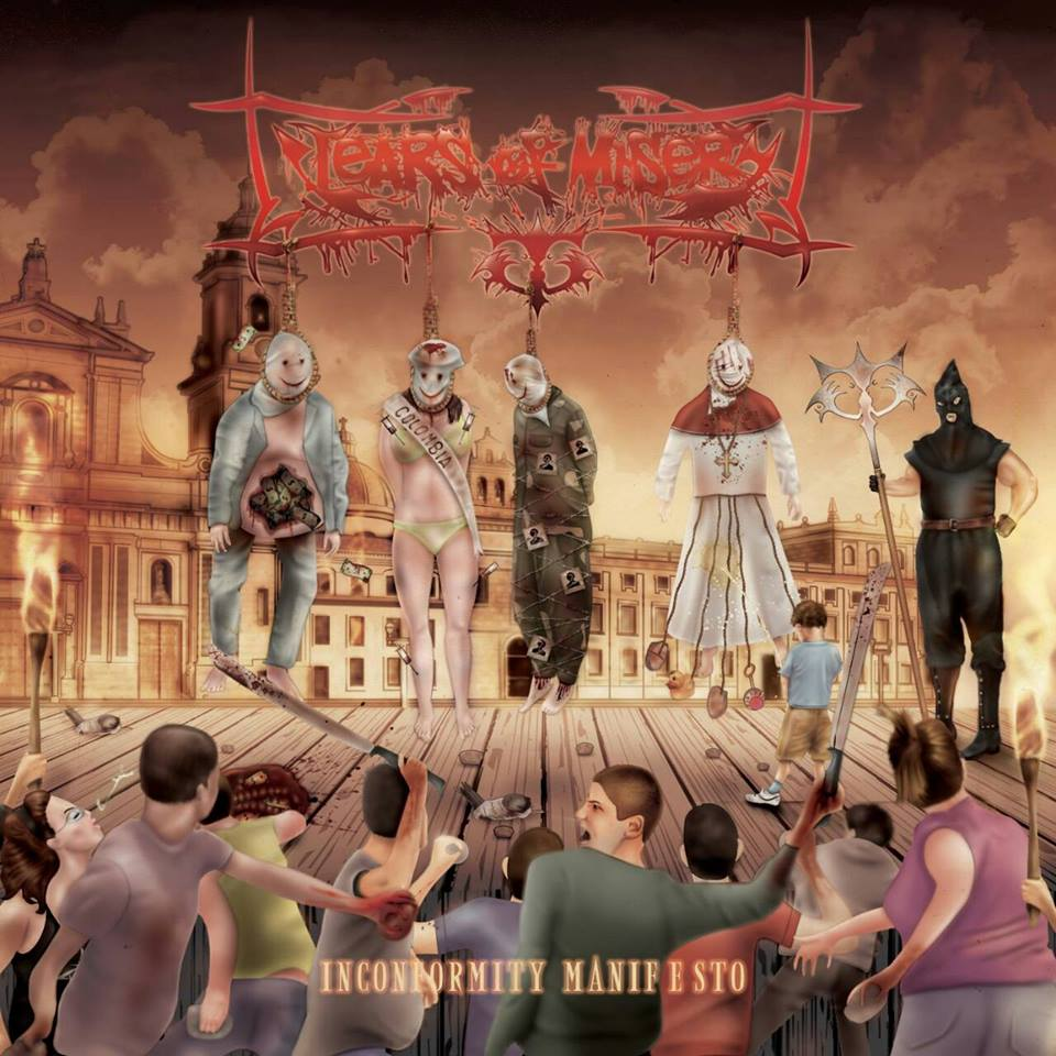 "Tears Of Misery Inconformity Manifesto 2014 - ""Inconformity Manifesto"" lo nuevo de TEARS OF MISERY"
