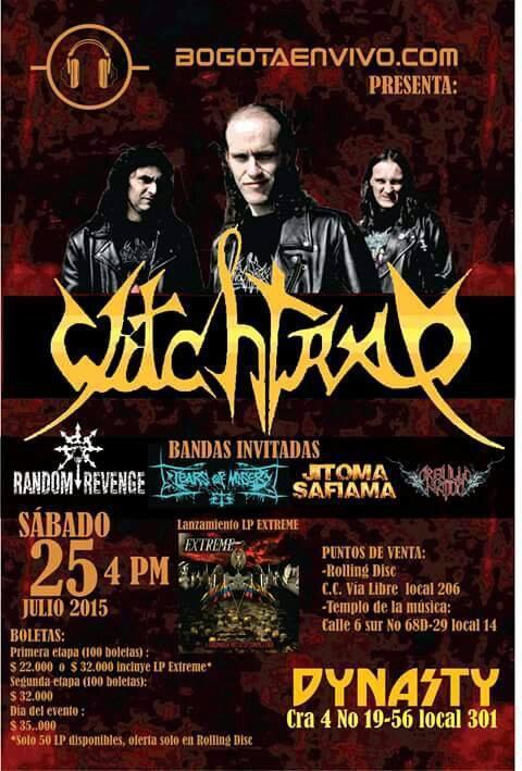 Witchtrap Bogota 2015