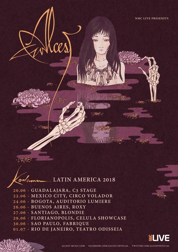 ALCEST en Colombia – Bogotá Junio 24, Auditorio Lumiere
