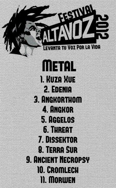Altavoz 2012 Metal