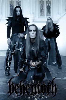 behemoth foto10 - BEHEMOTH anuncian nuevo disco