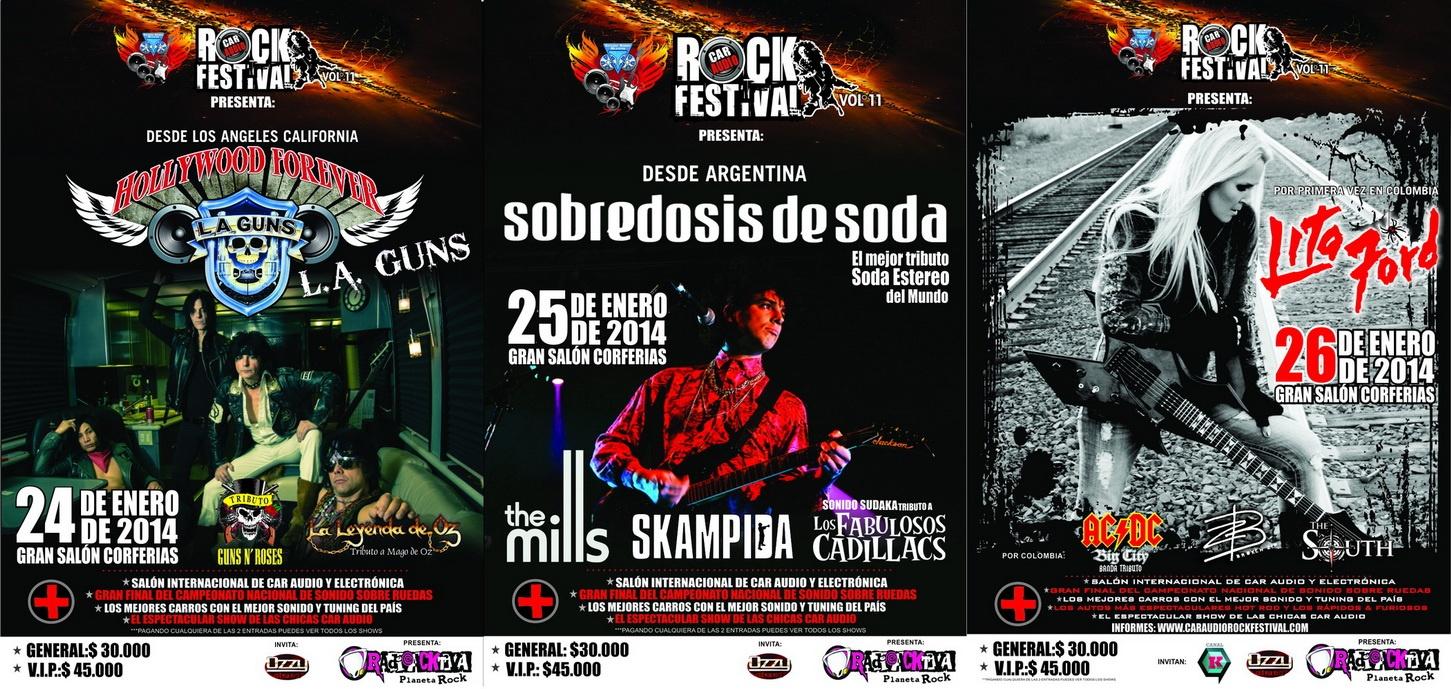 cara - CAR AUDIO ROCK FESTIVAL VOL. 11