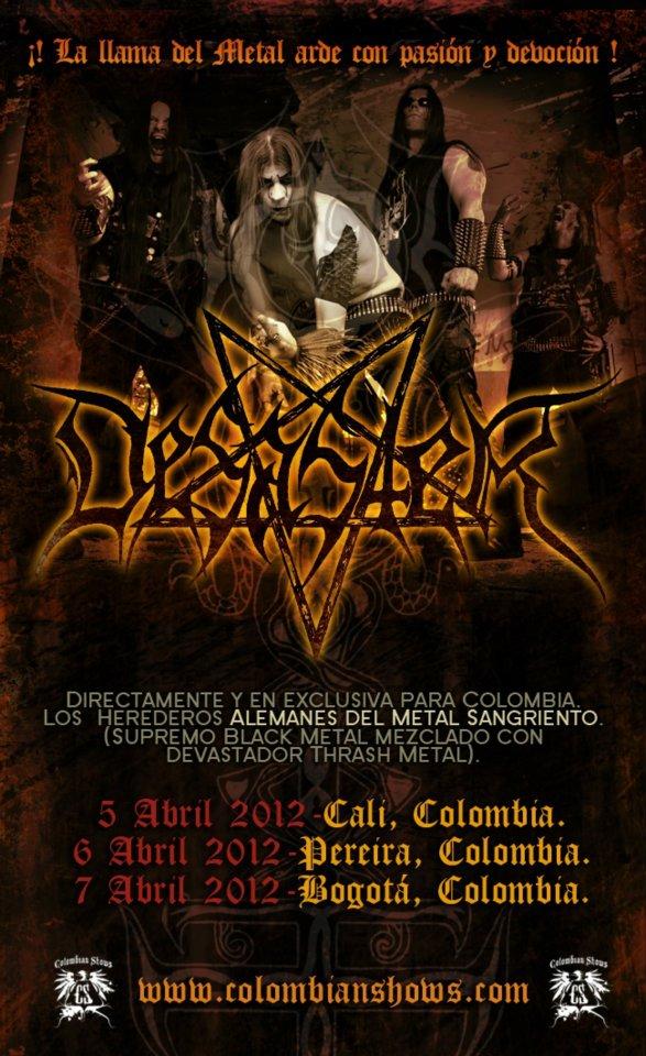 Desaster en Colombia 2012