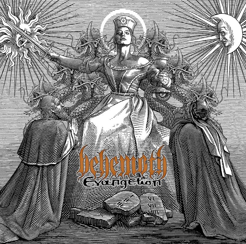 evangelion - BEHEMOTH anuncian nuevo disco