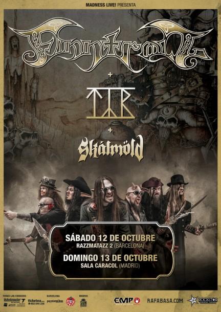fintroll poster OK impresion ok web 432x610 - FINNTROLL en España, detalles de la gira
