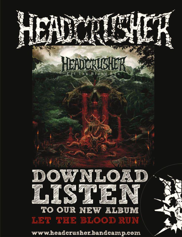 Head Crusher Promo Poster