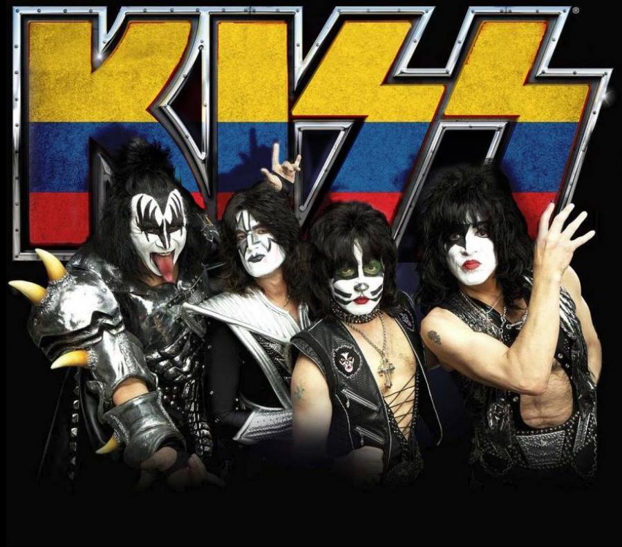 kiss colombia - Confirmado, KISS regresa a Colombia en el 2015