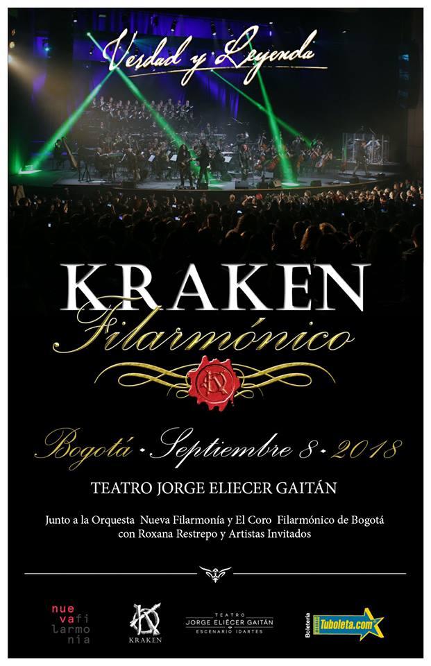 "kraken filarmonico 2018 - KRAKEN Filarmónico ""Verdad y Leyenda"""