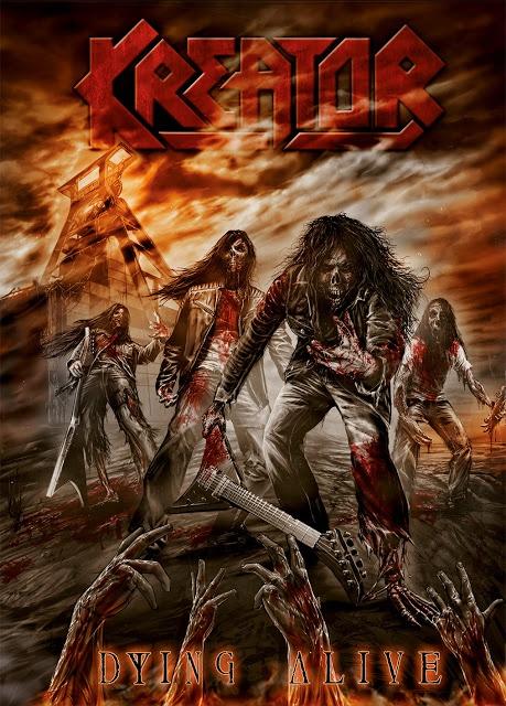 Adelanto de «Dying Alive» el nuevo DVD de KREATOR