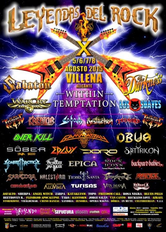 leyendas 535x750 - Festival Leyendas Del Rock 2015