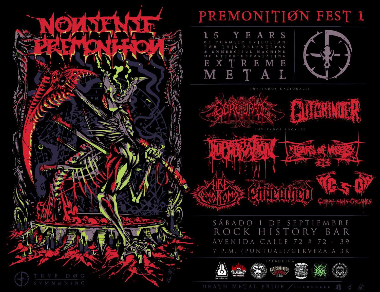 "premonition fest 01 - NONSENSE PREMONITION celebra 15 años de carrera con el ""Premonition Fest 1"""
