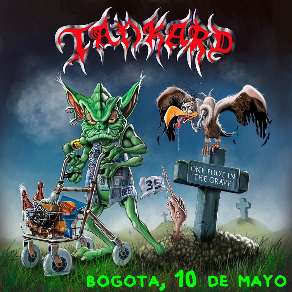 TANKARD en Colombia – Bogotá, Mayo 10 de 2018 Teatro Royal Center