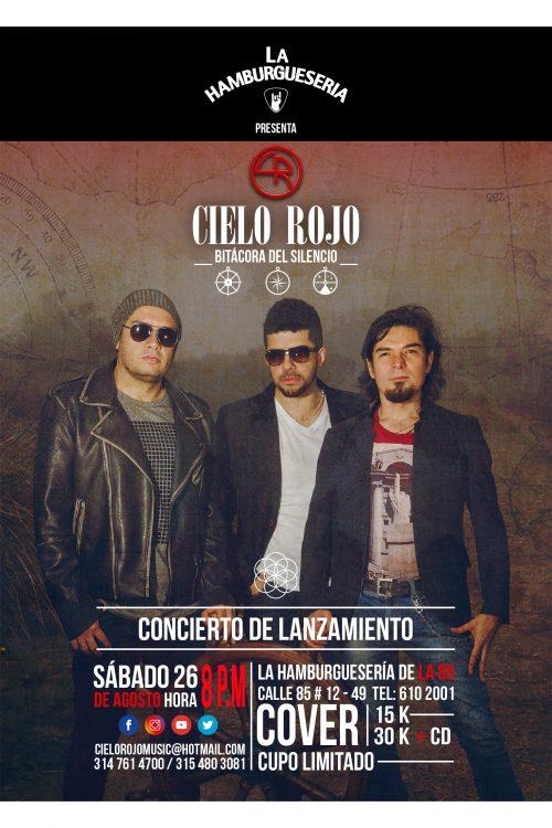 CIELO ROJO lanza su álbum «Bitácora del silencio»