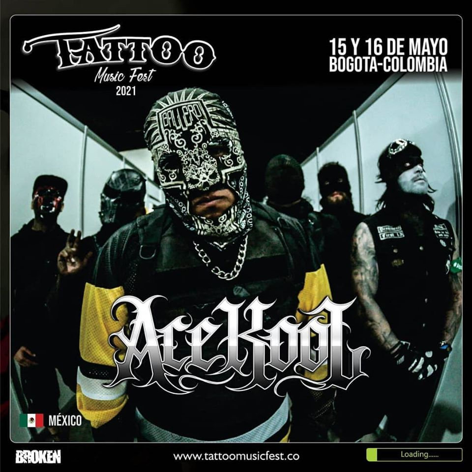 Ace Kool Tattoo Music Fest 2021 - Primeros anuncios para el TATTOO MUSIC FEST 2021