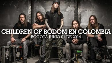 Children Of Bodom en Colombia 2014 Factor Metal 390x220 - CHILDREN OF BODOM regresa a Colombia en 2014