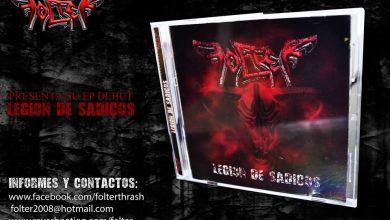 Photo of FOLTER presenta su primer EP «Legión de Sádicos»