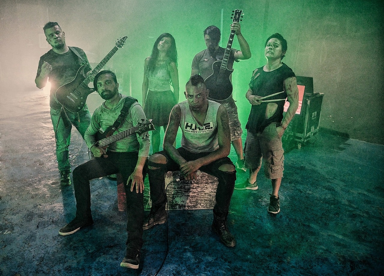 HIGH RATE EXTINCTION presenta su nuevo vídeo  «Skin and Blood»