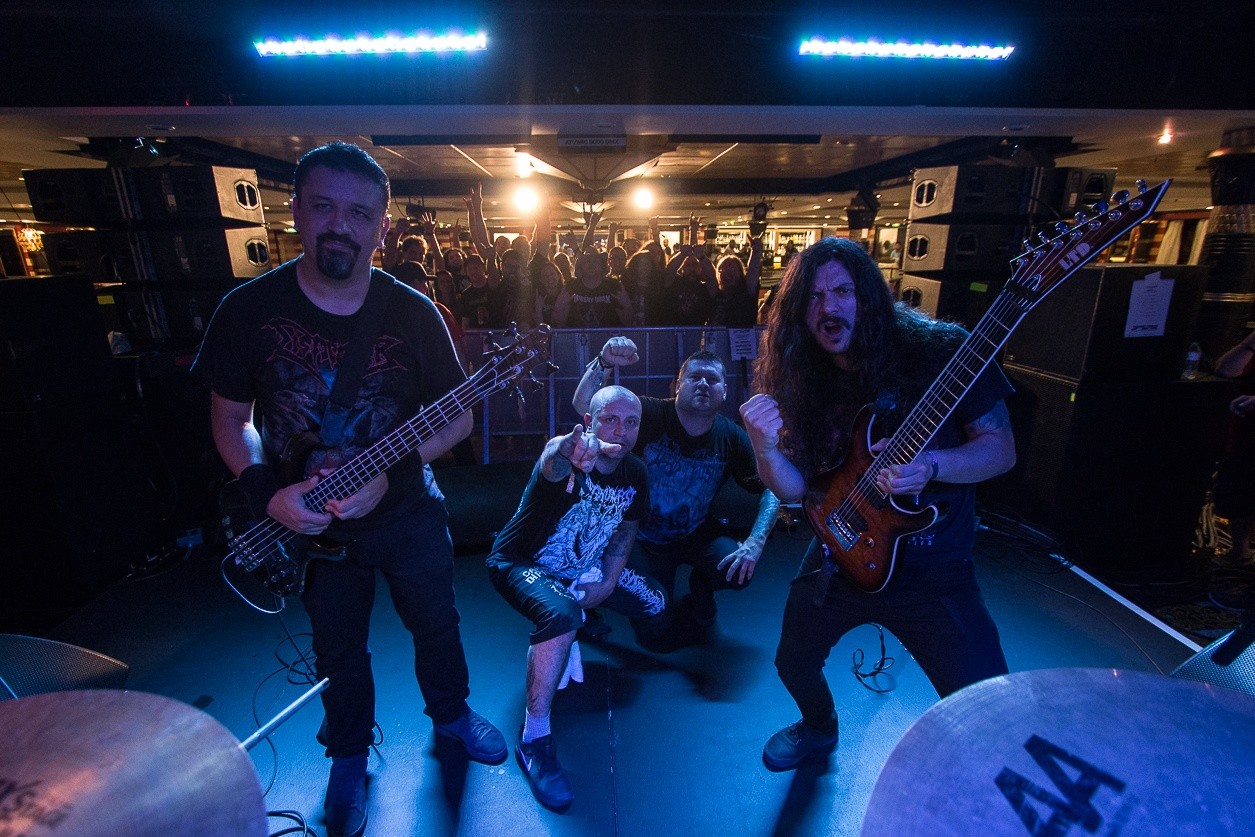 INTERNAL SUFFERING nos cuentan su experiencia en el  70000 TONS OF METAL