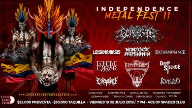 Photo of Detalles del INDEPENDENCE METAL FEST 2019