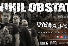 "Photo of NIHIL OBSTAT presenta el video lyric de su nuevo tema ""A Flesh Made Clockwork"""