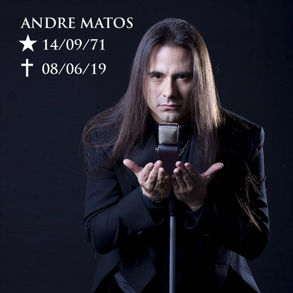 Fallece ANDRE MATOS ex vocalista de ANGRA