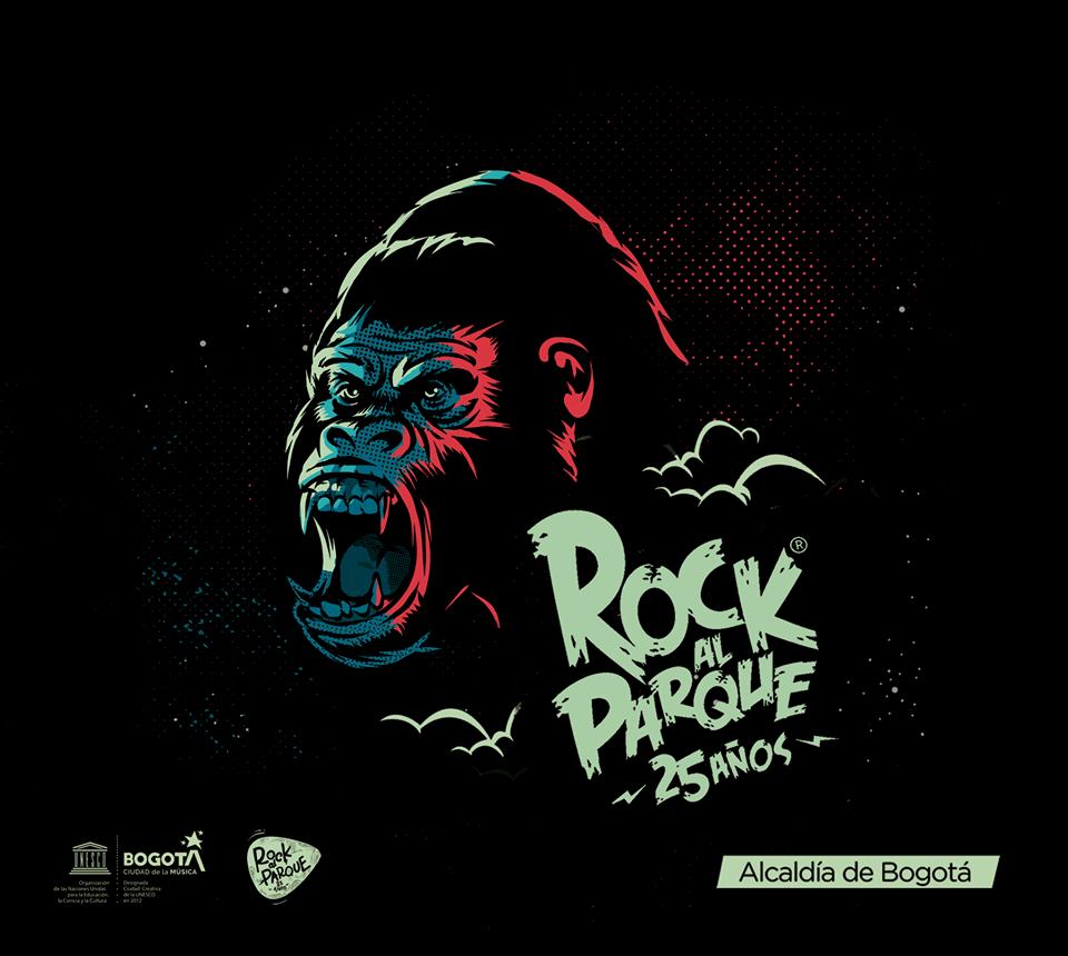 Segundo anuncio de bandas para ROCK AL PARQUE 2019