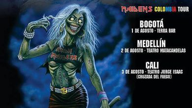 Photo of THE IRON MAIDENS tour Colombia 2014