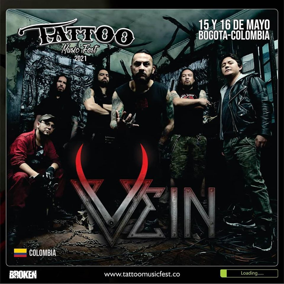 Vein Tattoo Music Fest 2021 - Primeros anuncios para el TATTOO MUSIC FEST 2021
