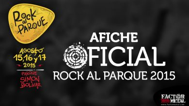 Photo of Afiche Oficial ROCK AL PARQUE 2015