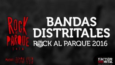 Photo of Ganadores convocatoria Distrital ROCK AL PARQUE 2016