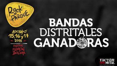 Photo of Ganadores convocatoria Distrital ROCK AL PARQUE 2015