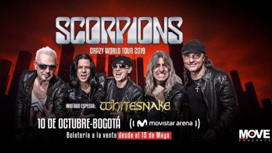Photo of COLOMBIA espera con ansias WHITESNAKE y a SCORPIONS